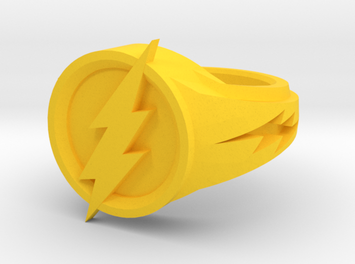 Flash Ring 3d printed