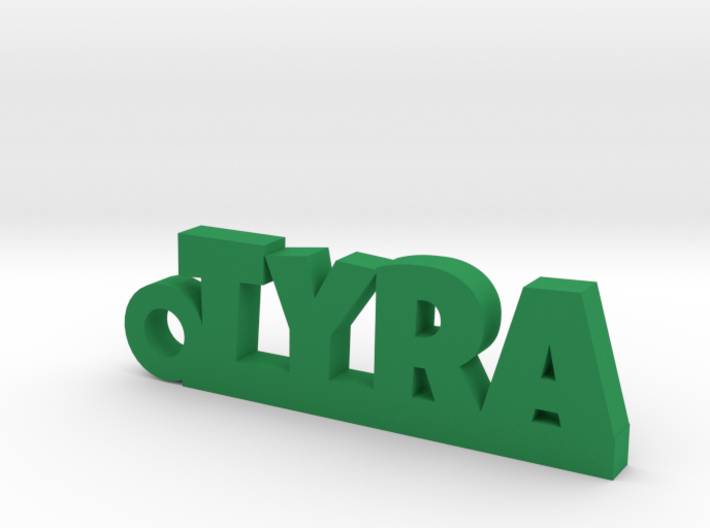 TYRA Keychain Lucky 3d printed
