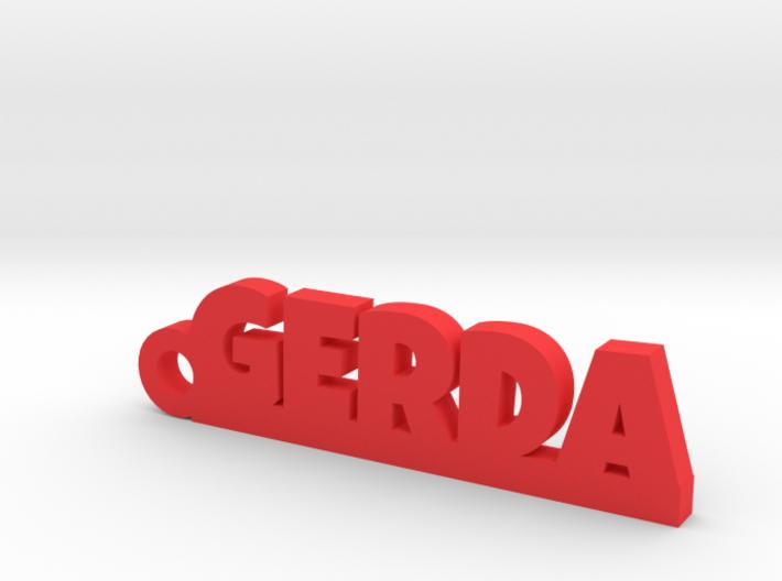 GERDA Keychain Lucky 3d printed
