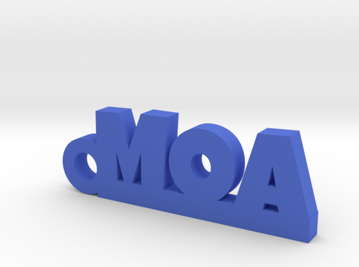 MOA Keychain Lucky 3d printed