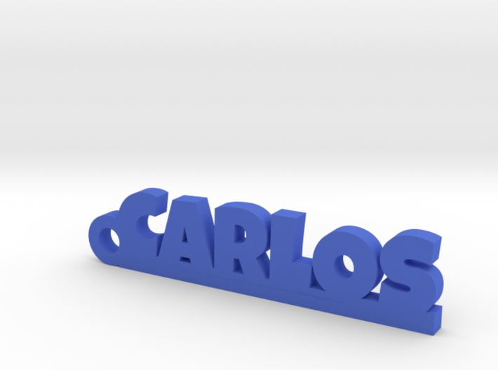 CARLOS Keychain Lucky 3d printed