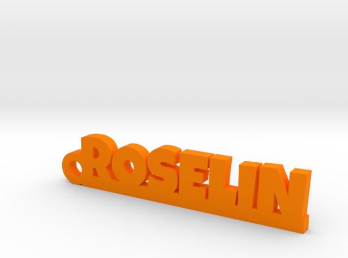 ROSELIN Keychain Lucky 3d printed