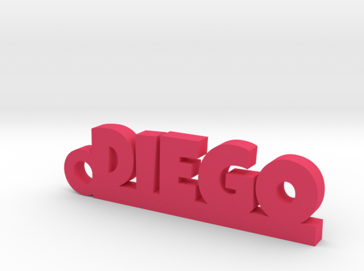 DIEGO Keychain Lucky 3d printed