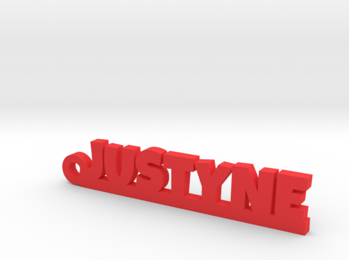 JUSTYNE Keychain Lucky 3d printed