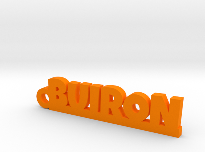 BUIRON Keychain Lucky 3d printed