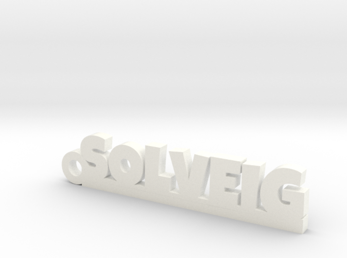 SOLVEIG Keychain Lucky 3d printed