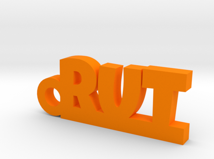 RUT Keychain Lucky 3d printed
