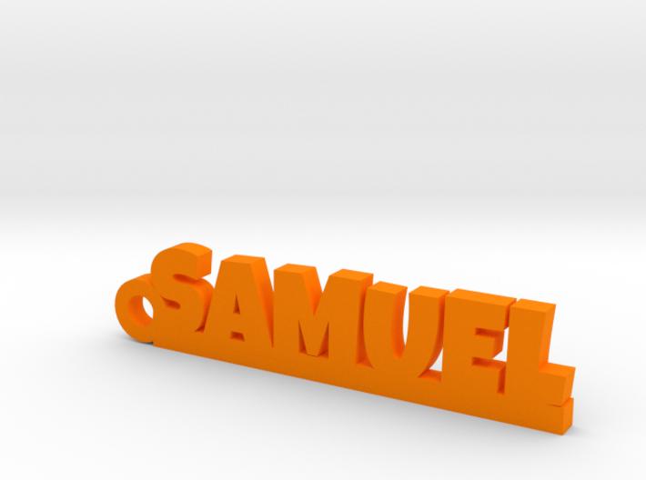 SAMUEL Keychain Lucky 3d printed