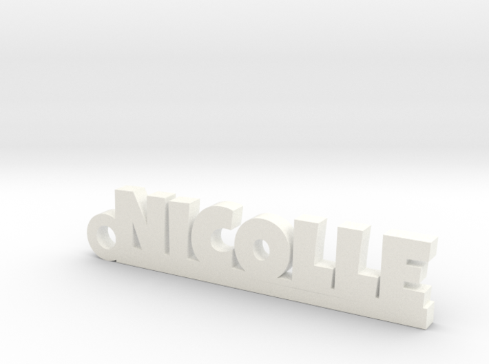 NICOLLE Keychain Lucky 3d printed