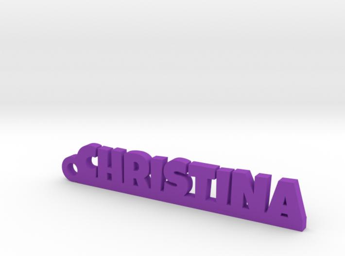 CHRISTINA Keychain Lucky 3d printed