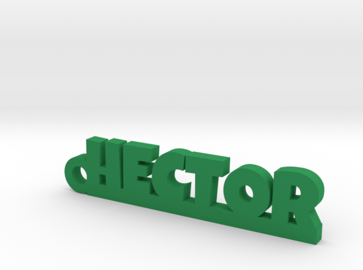 HECTOR Keychain Lucky 3d printed