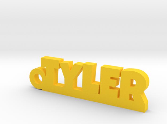 TYLER Keychain Lucky 3d printed