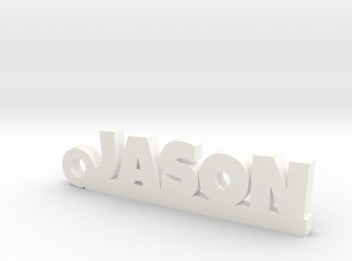 JASON Keychain Lucky 3d printed