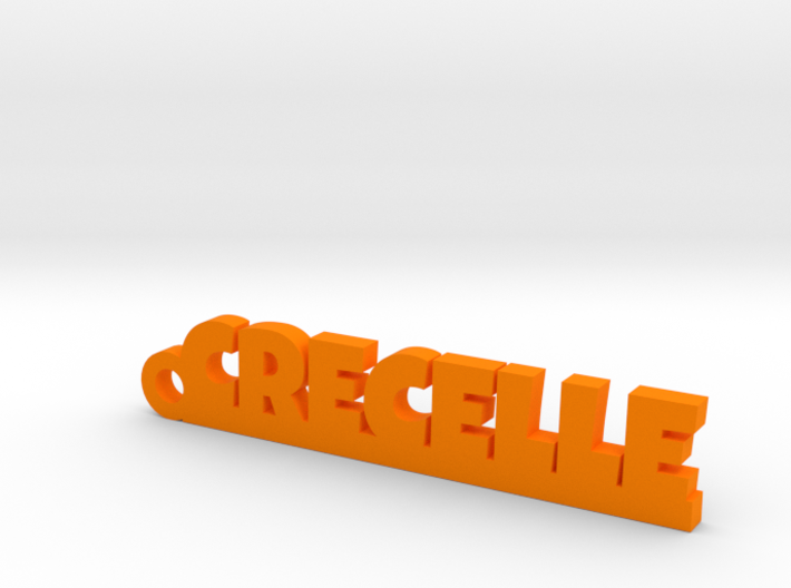 CRECELLE Keychain Lucky 3d printed