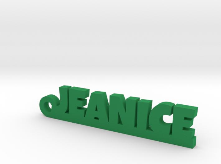 JEANICE Keychain Lucky 3d printed