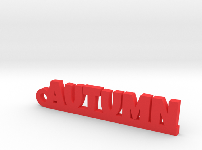 AUTUMN Keychain Lucky 3d printed