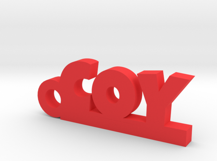 COY Keychain Lucky 3d printed