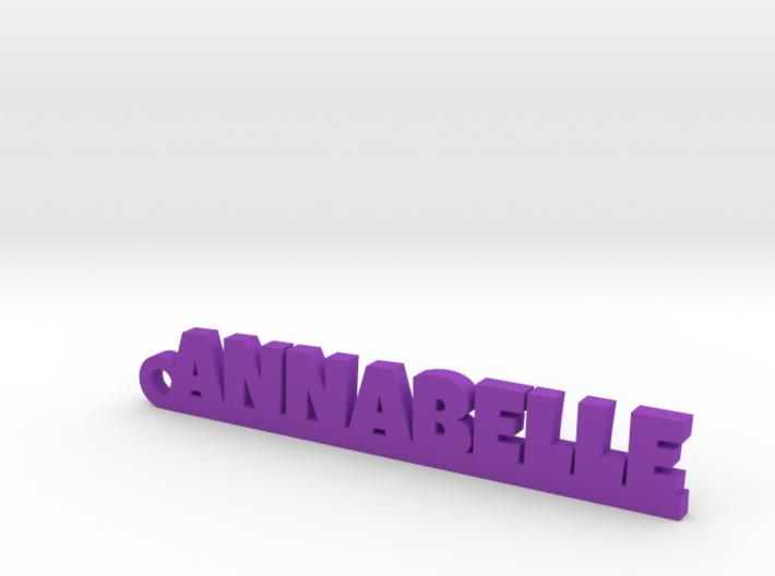 ANNABELLE Keychain Lucky 3d printed