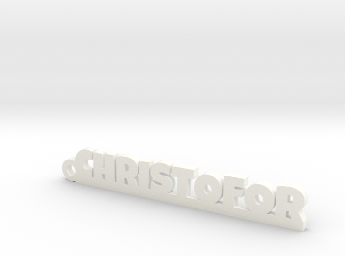 CHRISTOFOR Keychain Lucky 3d printed