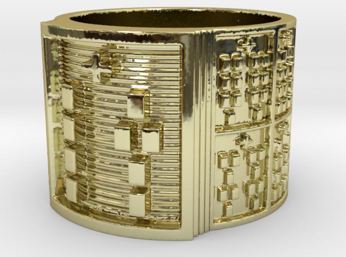 OTURANIKO Ring Size 14 3d printed