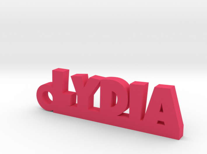 LYDIA Keychain Lucky 3d printed
