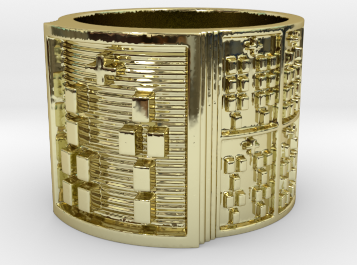 OTURAMUN Ring Size 13.5 3d printed