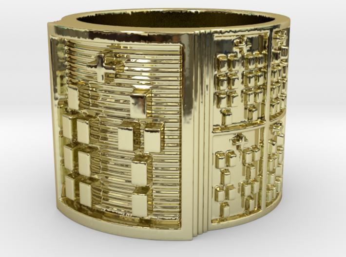OTURABARA Ring Size 11-13 3d printed