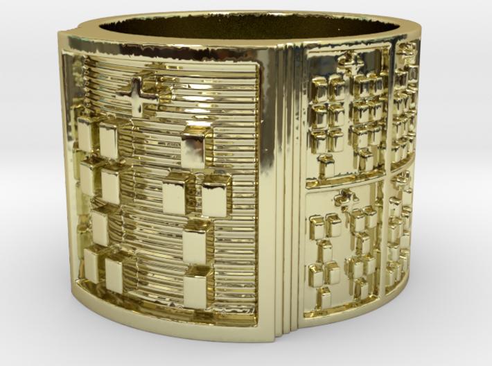 OTURATRUPON Ring Size 14 3d printed