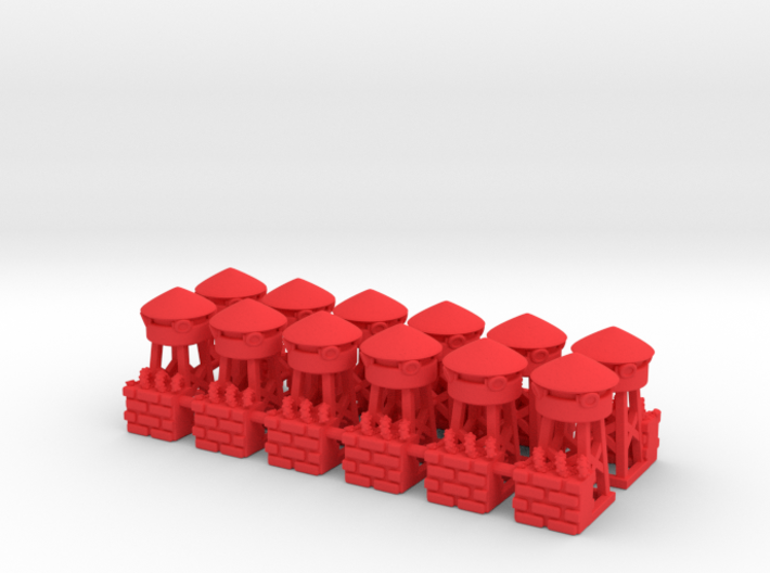 T.R.U.M.P. Towers for Monopoly 3d printed