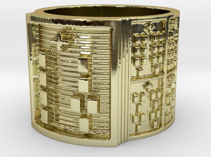 IRETEUNTELU Ring Size 13.5 3d printed