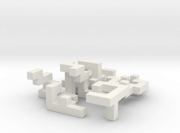 SwitchCube 6x6x6 cm 3d printed