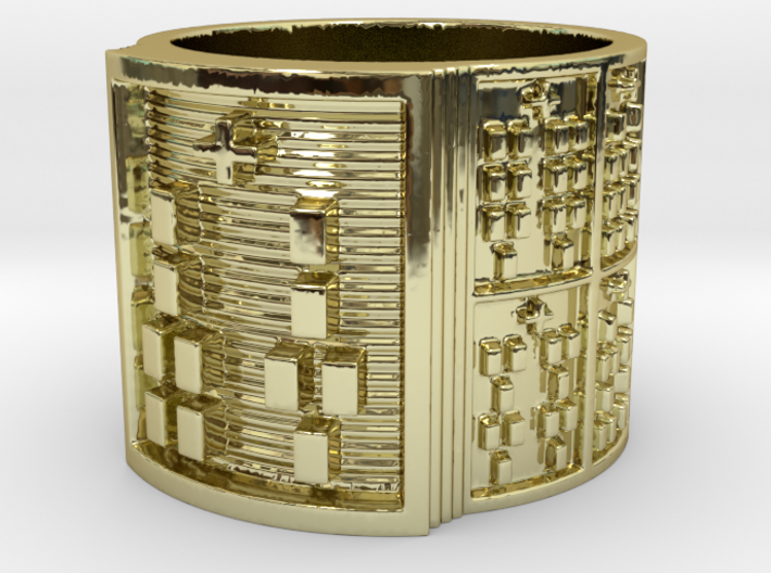 IRETELASO Ring Size 11-13 3d printed