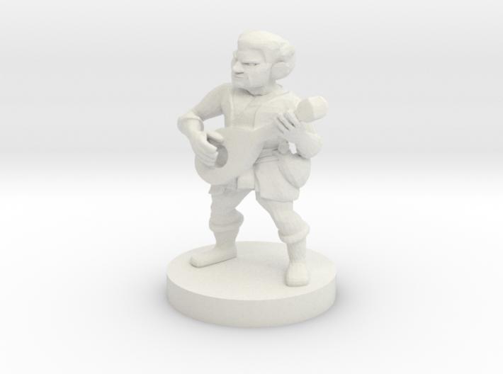 Halfling Bard -  Oren Yogilvy 3d printed
