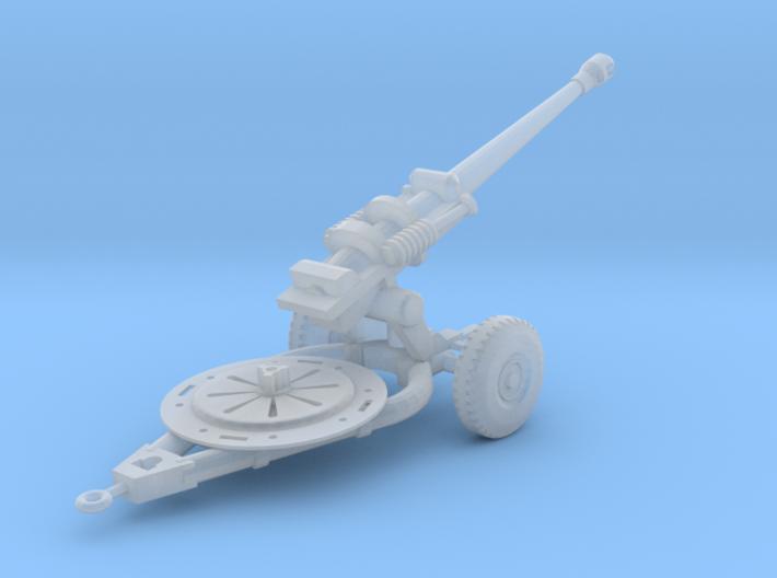 L118 Light Gun Solid Model (1:144) 3d printed