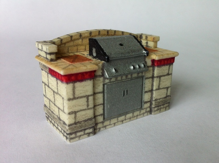 Stone-Grill 3d printed