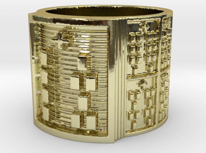 OSHENILOGBE Ring Size 11-13 3d printed