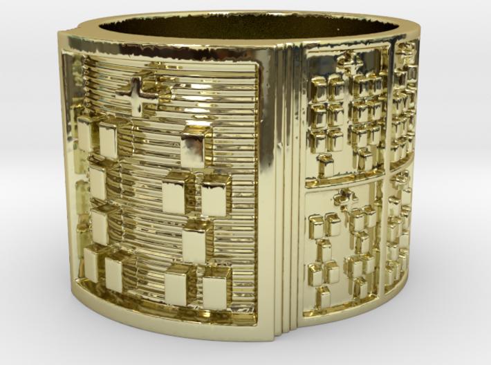 OSHEPAURE Ring Size 14 3d printed