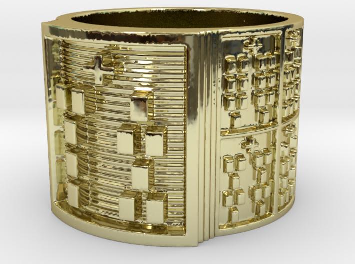 OSHESA Ring Size 14 3d printed
