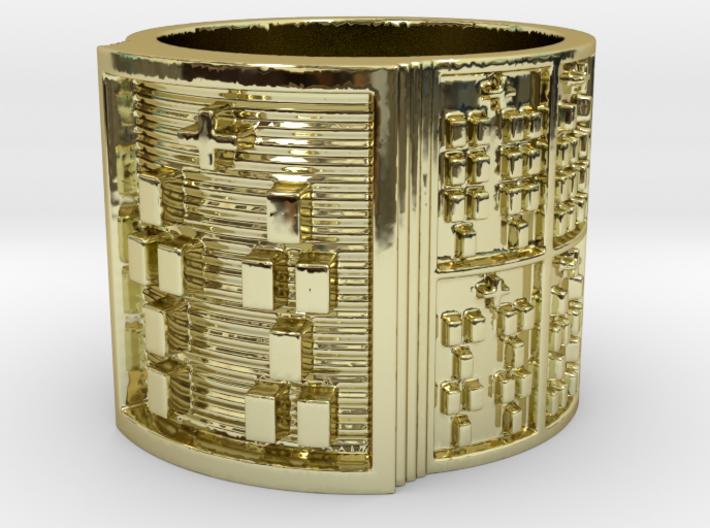 OSHETURA Ring Size 11-13 3d printed