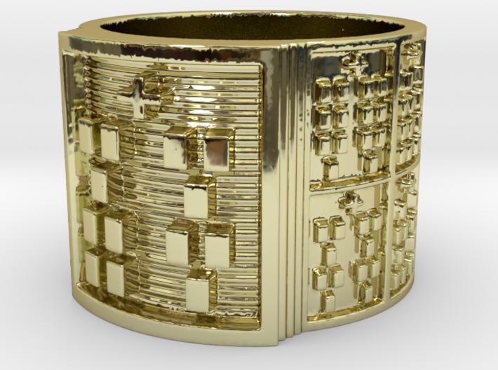 OFUNKAMALA Ring Size 14 3d printed