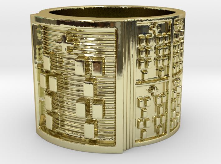 OFUNTEMPOLA Ring Size 11-13 3d printed