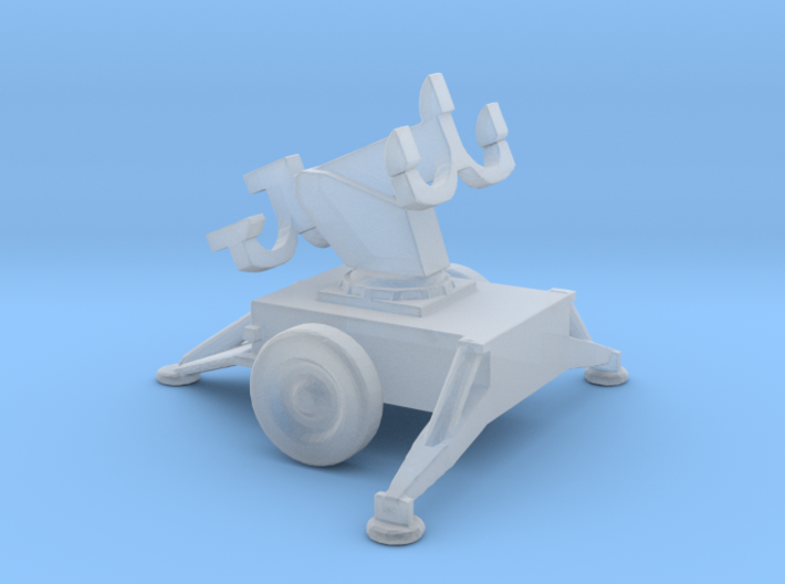 1/160 Scale Hawk Missile Launcher 3d printed
