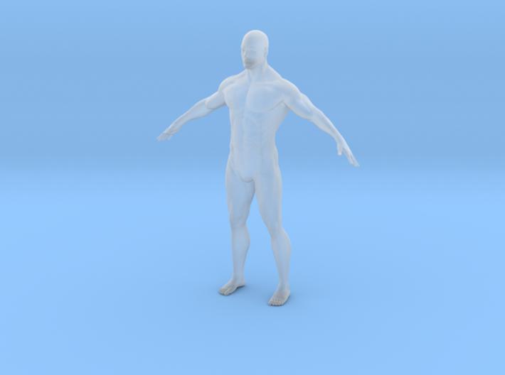 Custom_Size_Male 65mm tall 3d printed