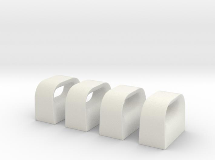 1/32 USN Chock Set x4 3d printed