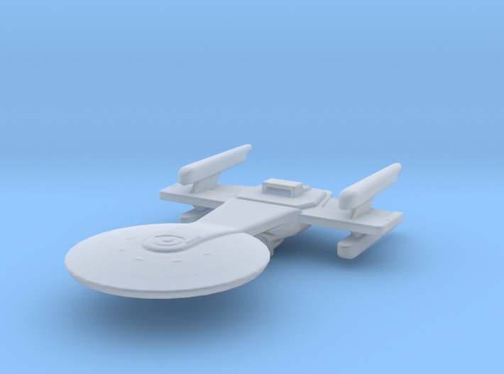 Excelsior 4-nacelled study II 1/7000 Attack Wing 3d printed