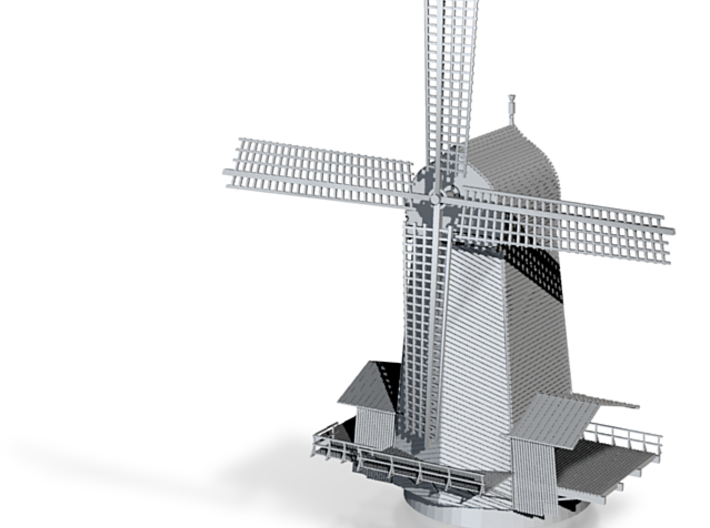 Wind Mill Saw Mill Z Scale 3d printed Wind Mill Z scale