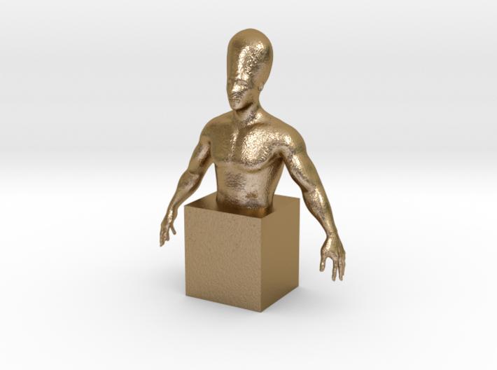 Human evolution 3d printed