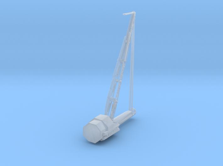 1/144 Scale USN Cruiser Aircraft Crane 144 Scale 3d printed