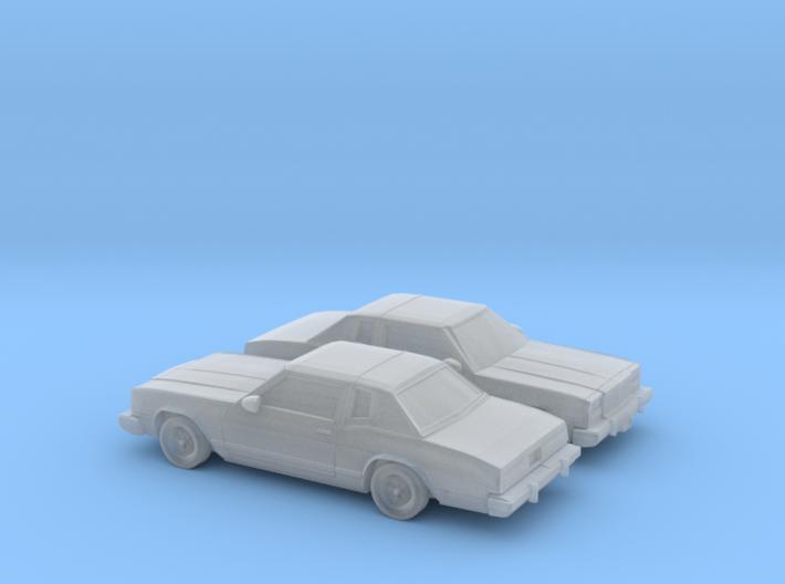 1/160 2X 1978 Buick Riviera 3d printed
