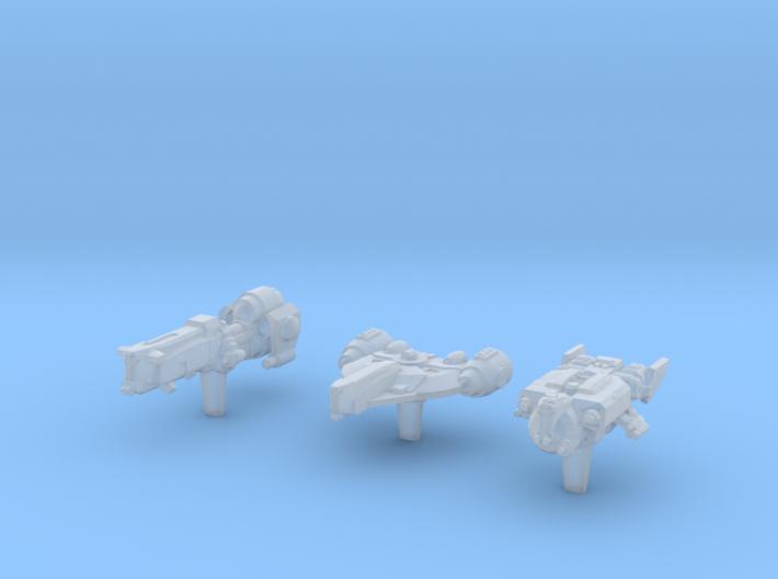 (Armada) Transports Set V 3d printed